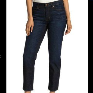 Eileen Fisher Frayed hem ankle jeans size 18W